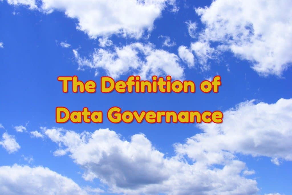 data governance definition