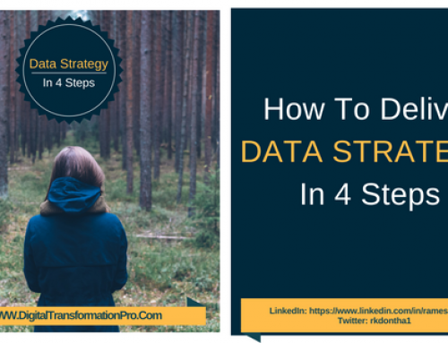 How To Deliver Data Strategy In 4 Steps