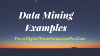 Data mining examples