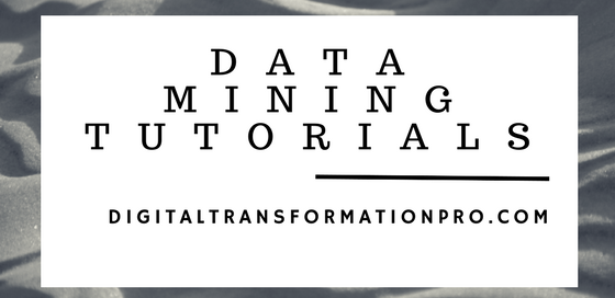 Data Mining Tutorials